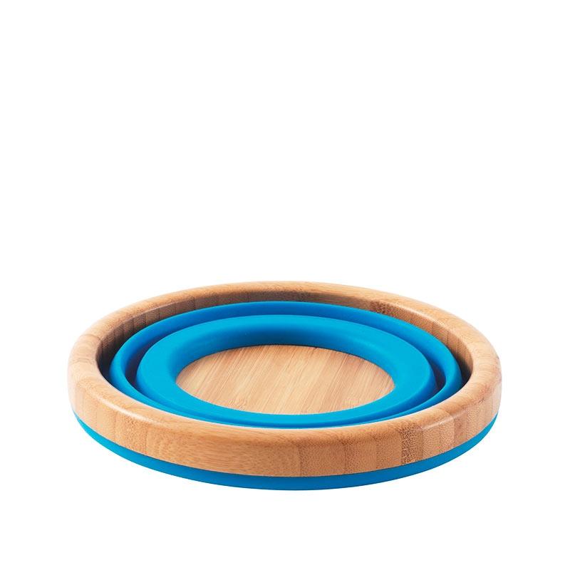 outwell collaps faltsch ssel bambus gro blau bus. Black Bedroom Furniture Sets. Home Design Ideas