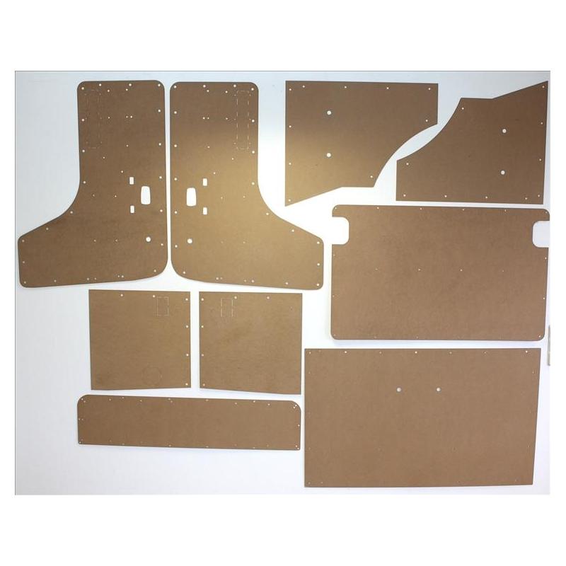 Interior Panel Kit 9 Panels Vw Type 2 T2a 8 67 8 71