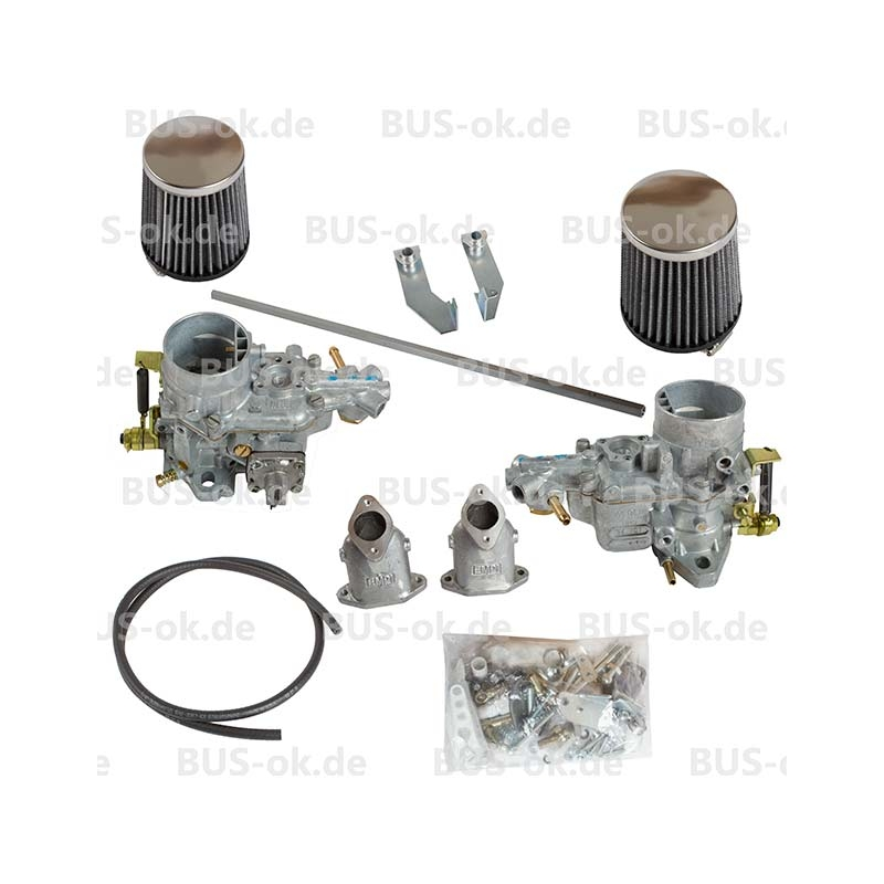dual weber 34 ict carb kit  twin port  vw t2 bay 1600cc