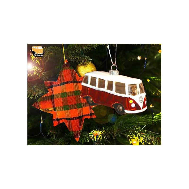 t1 volkswagen bus weihnachtsbaumschmuck bus 9 90. Black Bedroom Furniture Sets. Home Design Ideas