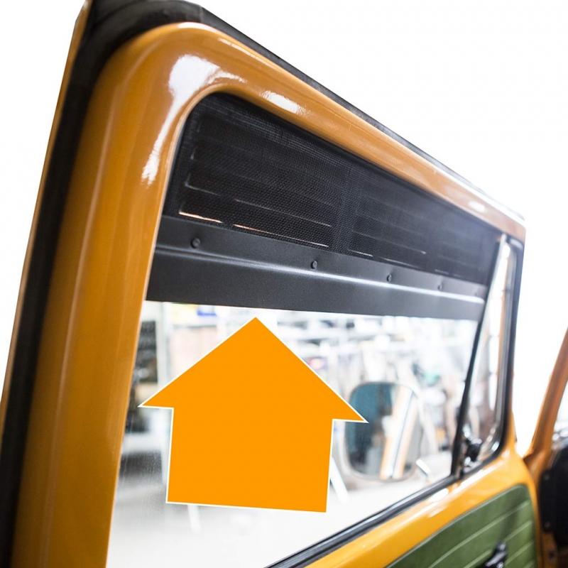 t2 l ftungsgitter frischluftgitter f r fahrer und beifahrerfenster bus 51 80. Black Bedroom Furniture Sets. Home Design Ideas
