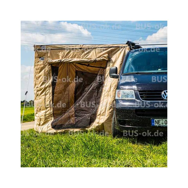t3 t4 t5 und t6 vorzelt zur f chermarkise ok64787 komplett mit moskitonetzen und fenstern bus. Black Bedroom Furniture Sets. Home Design Ideas