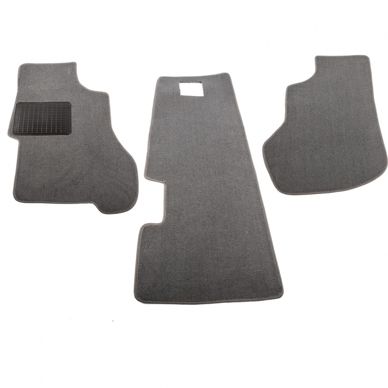 Type25 Carpet set 3parts,dark grey, Top quality, BUSok