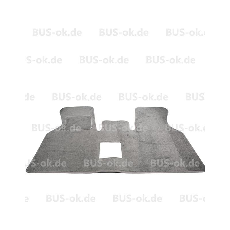 T4 Teppich Hellgrau für Fahrerhaus ohne Mitteldurchgang