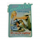 "Aufkleber ""Pin up Service Repair"" Vintage Retro..."