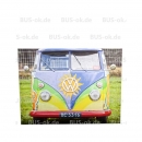 """Hippie-Bus""  Leinwandbild in..."