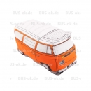 T2b Kissen Westfalia Orange Buskissen