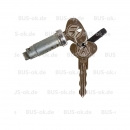 T25 closing cylinder with 2 keys for Double Cabin VW...