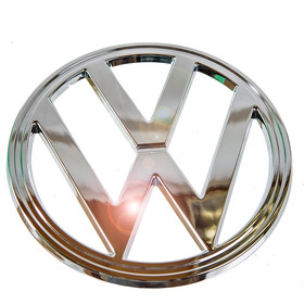 Volkswagen Front Badge (Chrome) for T2 1973 - 05/79