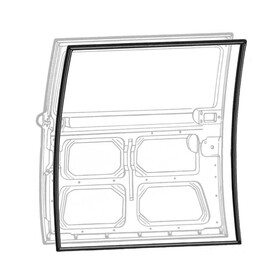 Type2 bay Sliding Door Seal (Right Sliding Door) Top...