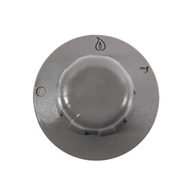 Knob for gas cooker, grey