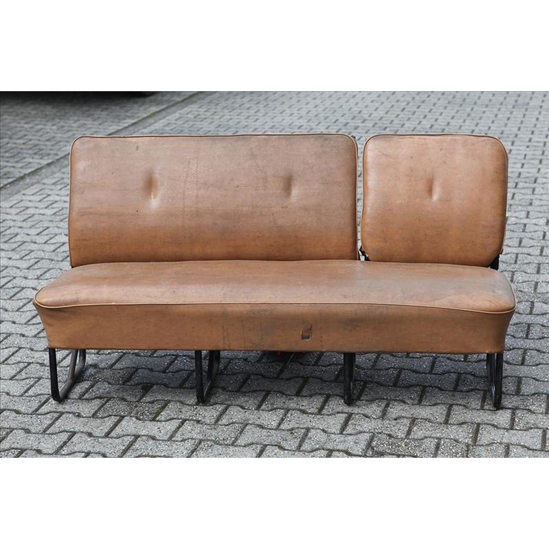 t2 sitzbank hellbraun f r schiebet r links gebraucht bus 466 00. Black Bedroom Furniture Sets. Home Design Ideas