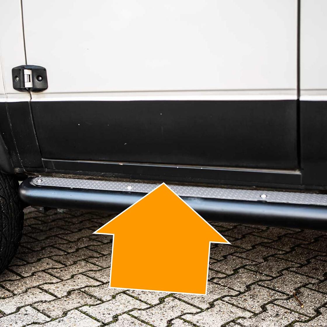 VW Bus T3 Türen Rechts /& Links Windabweiser NEU