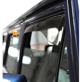 T25 RAIN- AND WIND DEFLECTORS for the cab doors