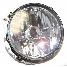 Headlamp set clear glass H4 late bay 8.73 - 7.79