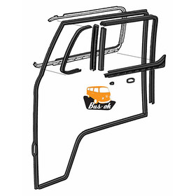 T2 Cab Door Seal Kit Offside Right (10 parts)