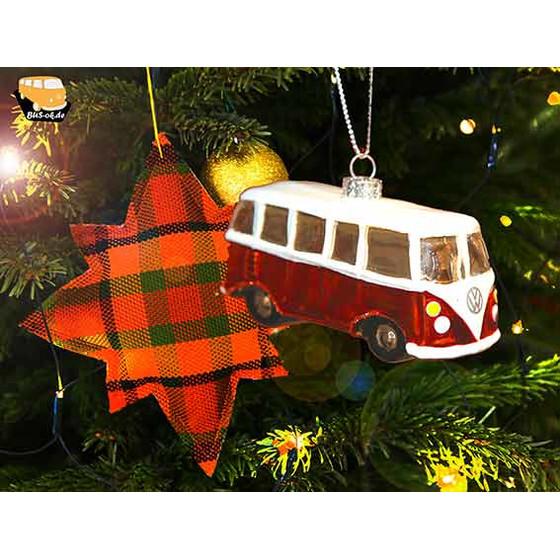 Type2 Split window bus Christmas Tree Decoration T1
