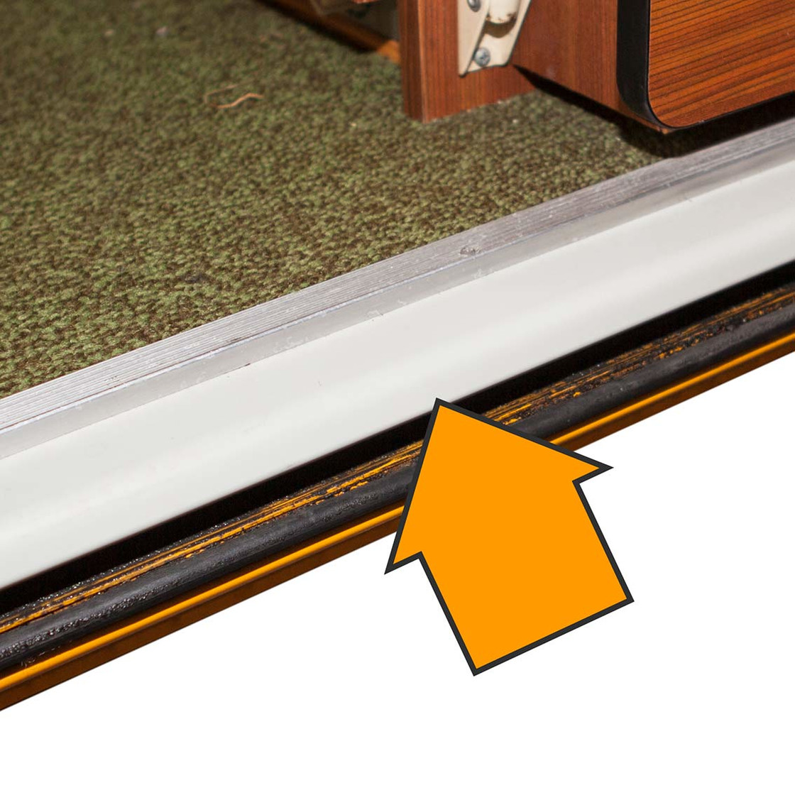 Type2 Bay Sliding Door Sill Cover Plastic T2 Top Oem Nr