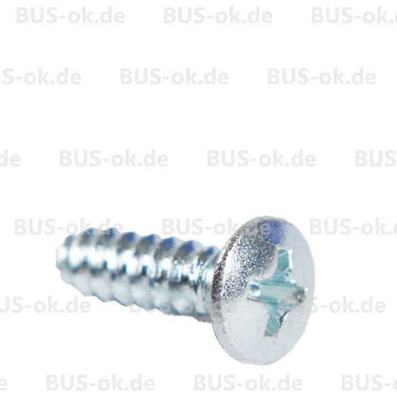 Type2 bay screw for cap end interieur trim OEM partnr. N 140942