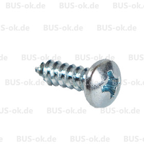 Type2 split bay screw for coat hook N 139612
