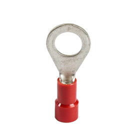 crimp-type cable socket, red for cable 0,5 - 1,0qmm M5