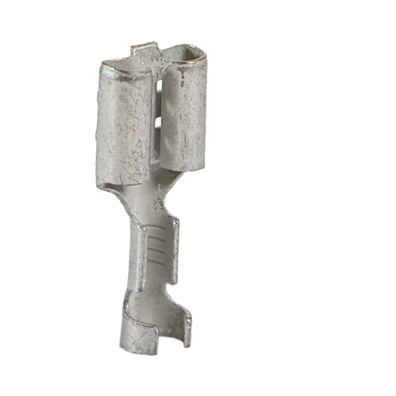 crimp-type cable socket,blade terminal for cable 0,5 - 1,0 qmm 6,3 x 0,8