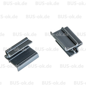 Type2 bay 2 Clips for Louvre Window Mosquito Net Frame