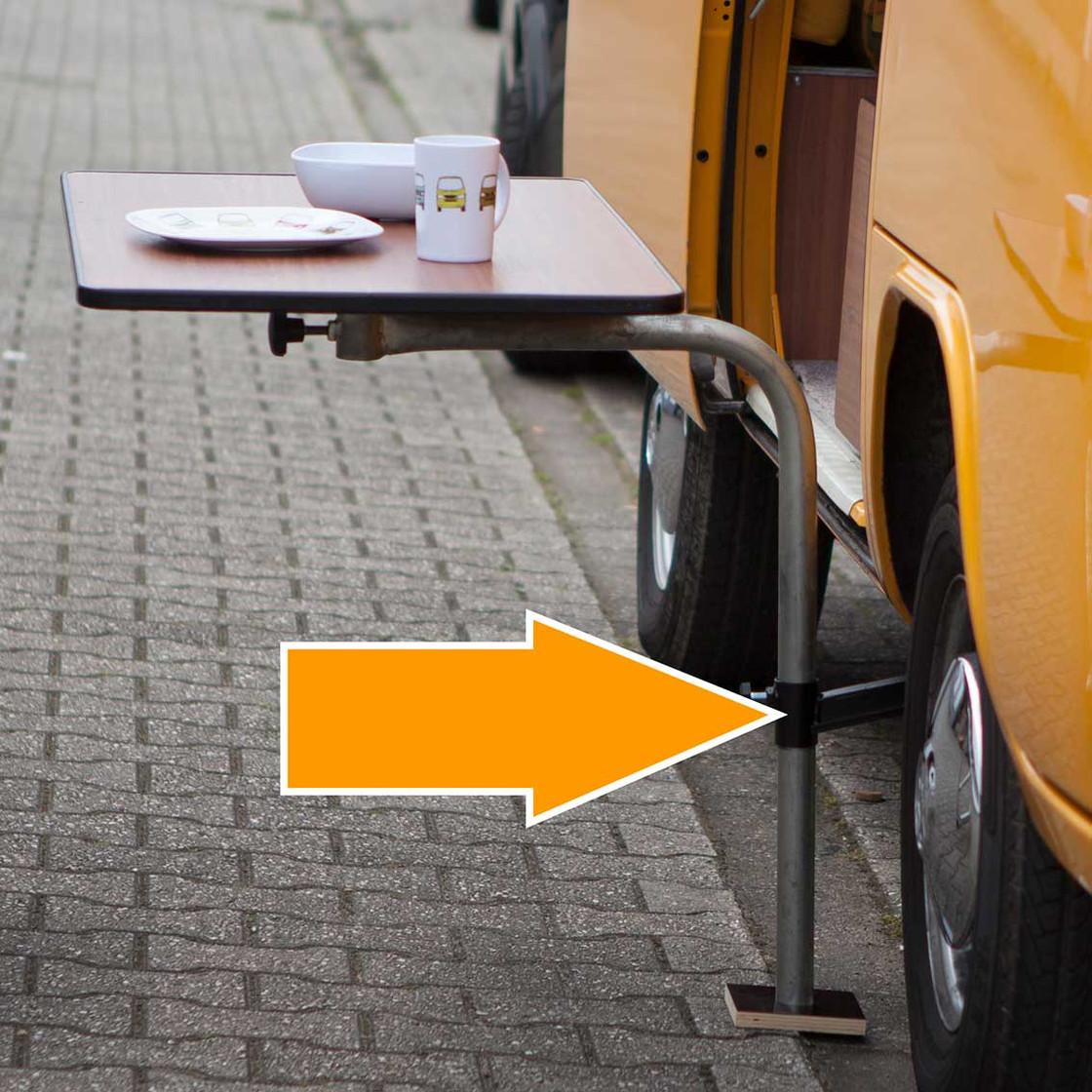 Type2 Bay Window Westfalia Table Bracket For Jacking Point Outdoor E 47 70