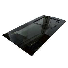T5 T6 Front Side Sliding Window Glass Dark Tinted...