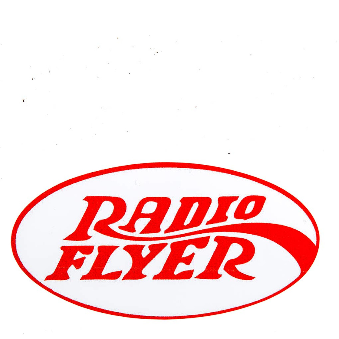 Aufkleber Radio Flyer