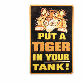 Aufkleber Put a Tiger in your Tank Vintage