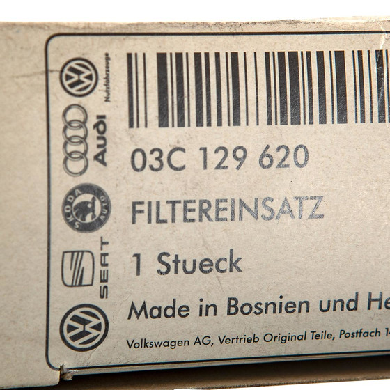 VW Golf Polo Touran Luftfilter NEU/OVP Verglnr. 03C129620 Originalteil