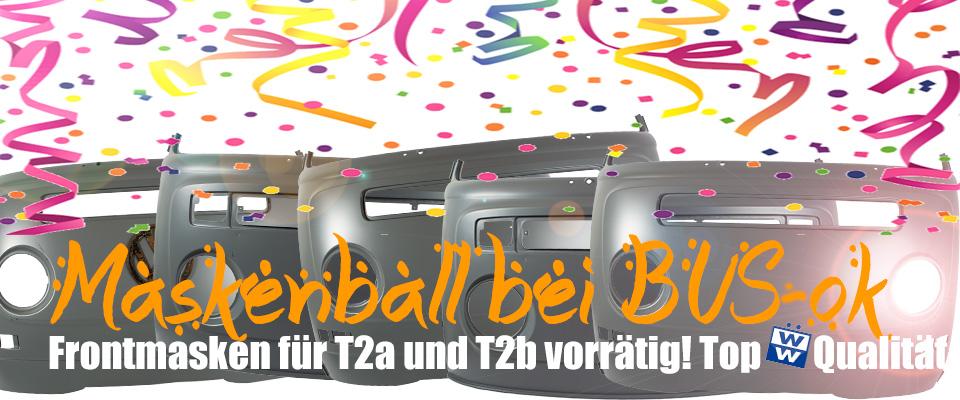 Frontmasken für VW Bus T2a und T2b von Wolfsb