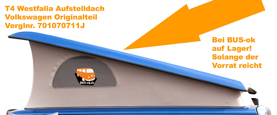 VW Bus T4 Westfalia Aufstelldach NOS